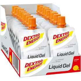Dextro Energy Caja de Geles 18x60ml, Orange